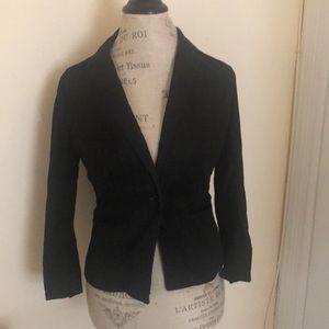 Blazer Linen, cotton, spandex Ann Taylor Loft